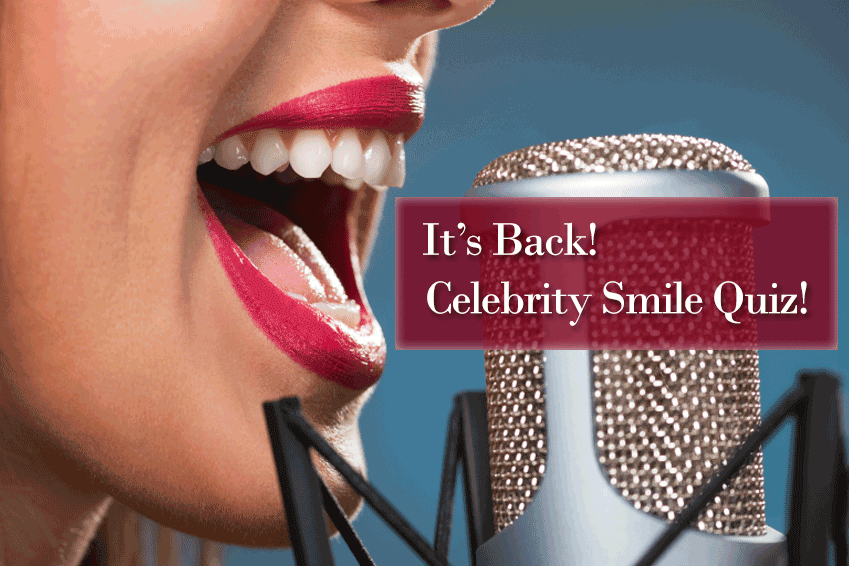 It's Back! Take Celebrity Smile Quiz No  2! | News from John