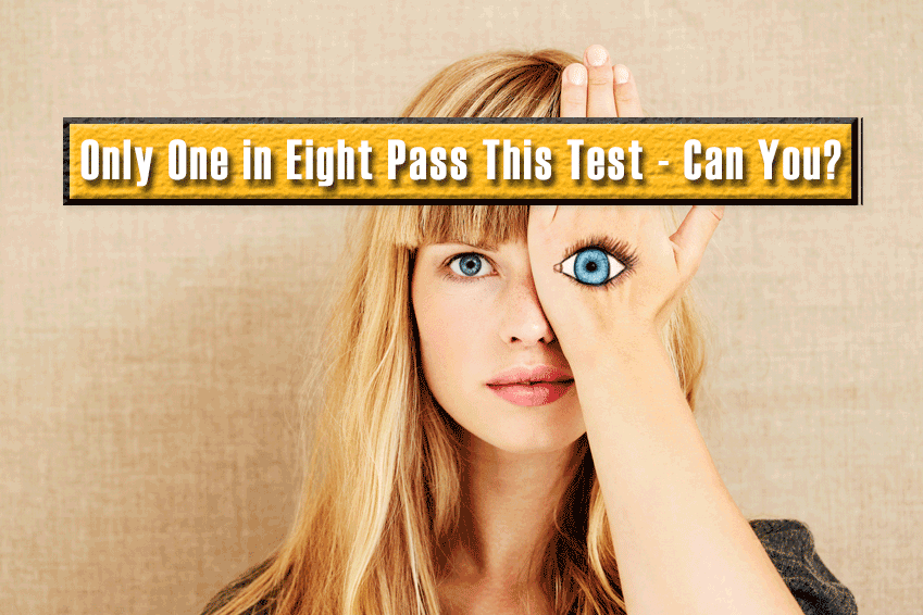 Only One in Eight Pass This Test – Can You?